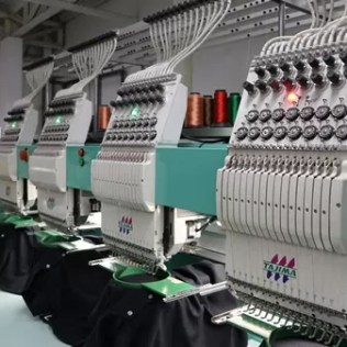 Computerized embroidery machines at CustomThread