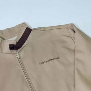 Custom embroidery ideal for corporate apparels