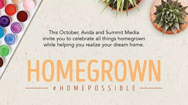 Avida launches #HOMEPOSSIBLE: Homegrown to promote homegrown lifestyle