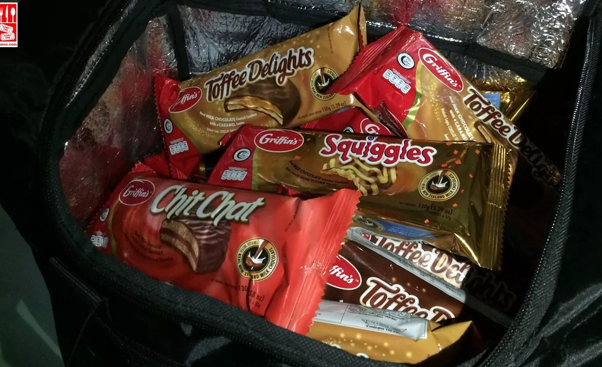 A bag of Griffin's Biscuits