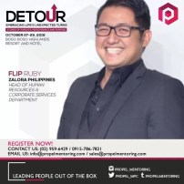 Flip Ruby, Head of Human Resources and Coporate Services of Zalora Philippines