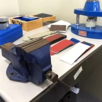 Equipment to conduct impact testing and other processes at Metalink