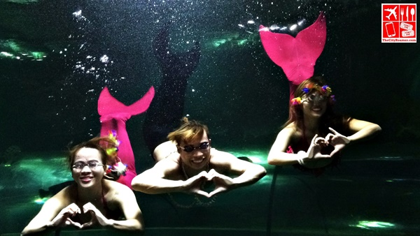 Mermaid Show at the Boracay Oceanarium