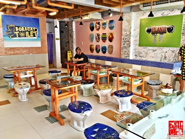 Dining area of Boracay Toilet
