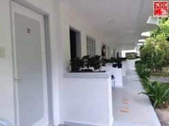 Casa Pilar rooms facade painted in white