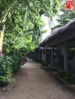 The quiet passage to Casa Pilar rooms