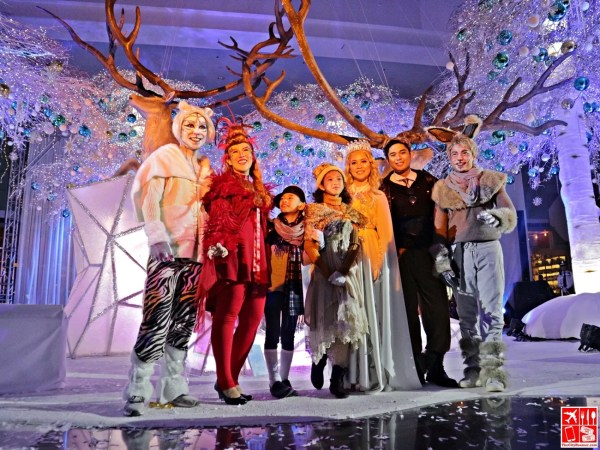 The Cast of The Tale of the Winter Forest