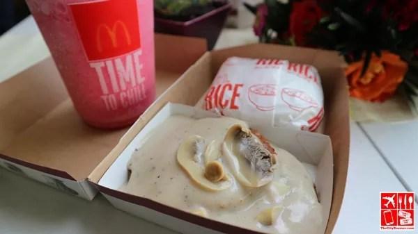 Enjoyed McDonald's Mushroom Pepper Steak
