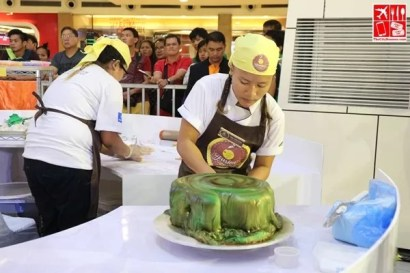 At the 11th Goldilocks Intercollegiate Cake Decorating Challenge 2017