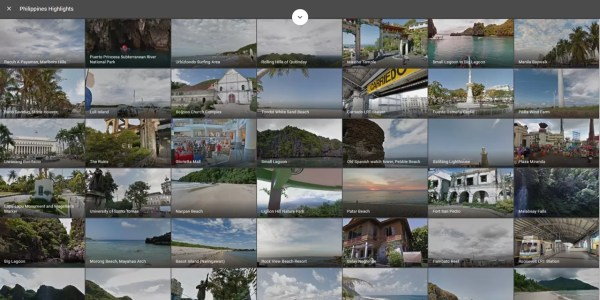 More Philippine Sites on Google Street View