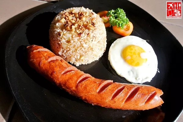 All-Day Breakfast offering - Schublig Sausage