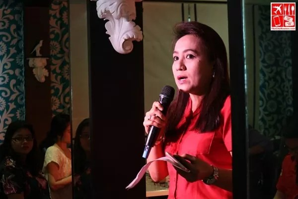 Director of the Philippine Red Cross National Blood Services Dr Christie Monina Nalupta