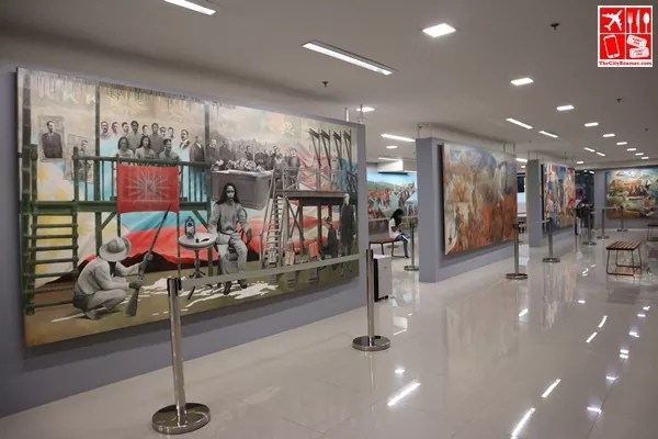 Learn about history at SiningLakbay at Gateway Gallery