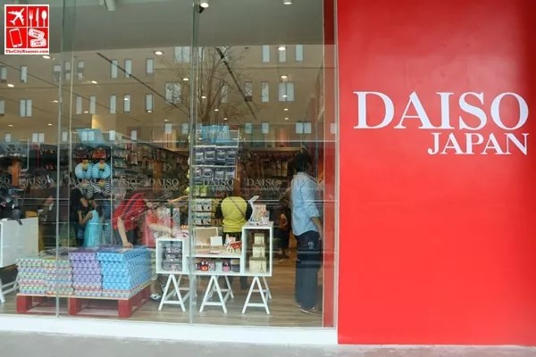 Daiso Japan UP Town Center has an airy look