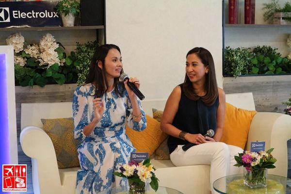 Electrolux Summer-Ready Home guests speakers Amina Aranaz-Alunan and Janice Villanueva