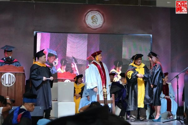 MLQU 69th Graduation Rites at Victoria Sports Tower