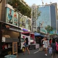 Food Trucks at Summer Food Fest at Bonifacio High Street Summer in the Street