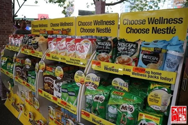 Nestle Products to buy at Robinsons Supermarket Learn Wellness event
