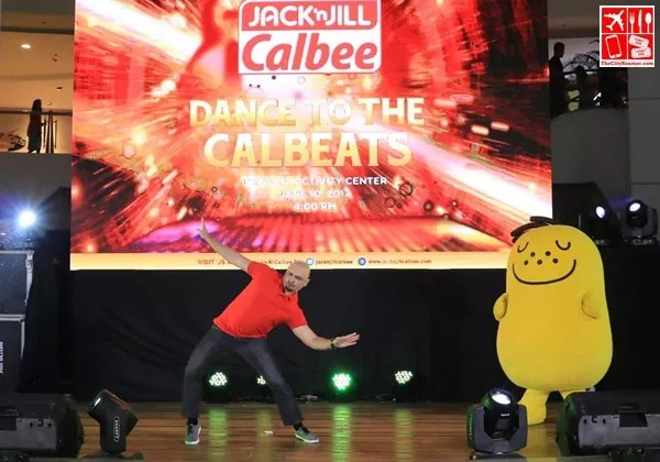 Dance showdown between Michael Flores and Jaga at the Dance to the Calbeats event