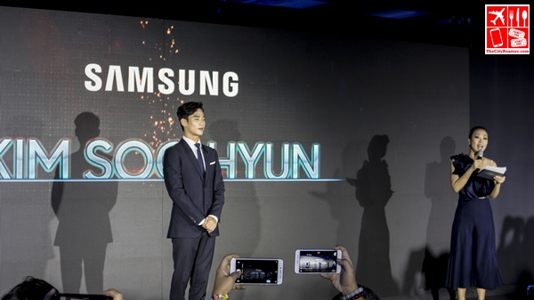 Korean celebrity Kim Soo Hyun at the event