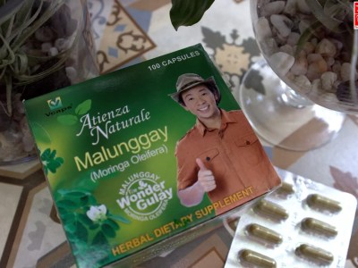 A 500 mg Atienza Naturale Malunggay Capsule is equal to two-and-half cup of malunggay