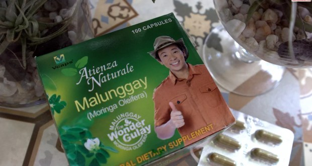 Atienza Naturale Brings the Power of Malunggay in a Capsule