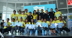 Cebu Pacific Juan For Fun 2017 Backpacker Team Finalist with coaches
