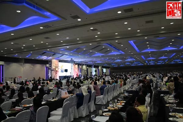 Conference catered by Hizon's