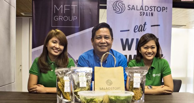 MFT Group Holds SaladStop! European Master Franchise