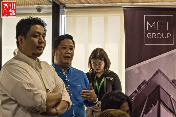 MFT Group COO Dr Erik Tan (Middle) talks about competition in Spain