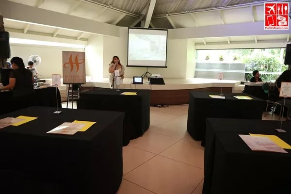 Seminar setup by Hizon's Catering
