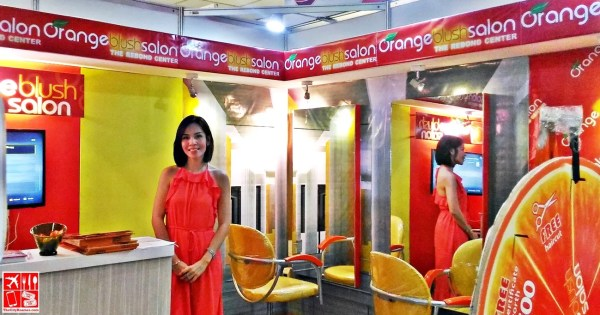 Orange Blush Salon at the Franchise Asia Philippines Expo 2017
