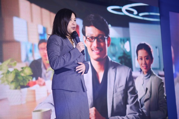 RCBC Chief Marketing Officer Ms Ces F Natividad shares the inspiration behind the bank's fresher younger new logo, and new corporate Philosophy We Believe in You