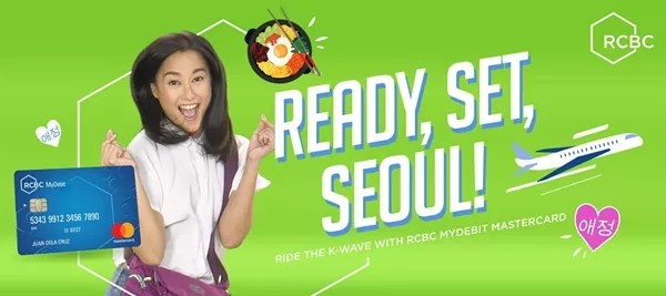 Ready Set Seoul Promo with RCBC MyDebit Mastercard