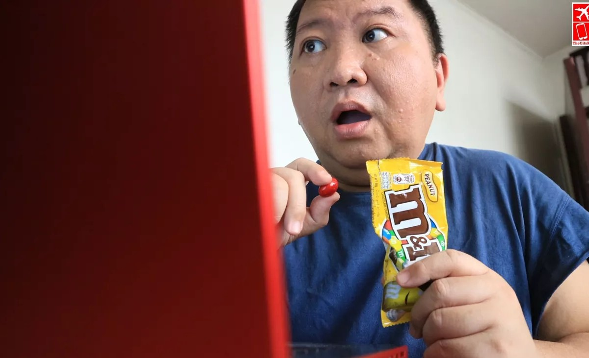 Screentime is way better with M&M's Chocolates