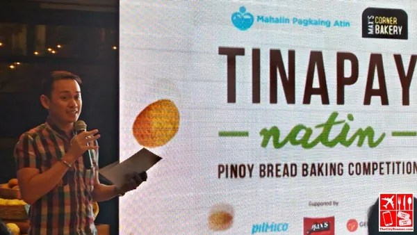 Chef Jam Melchor at the first Tinapay Natin Press Launch