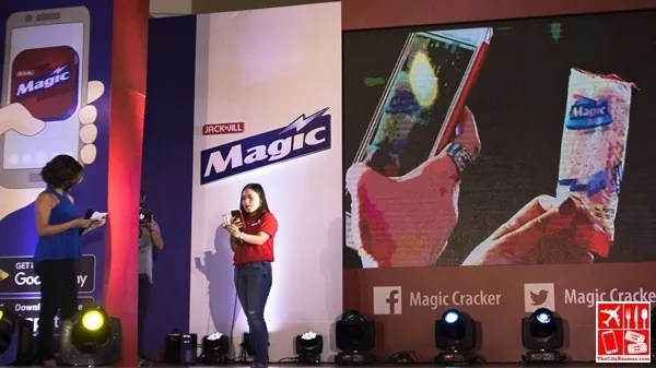 Magic in a Pack on Magic Crackers Mobile App