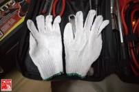 1 Pair Cotton Gloves