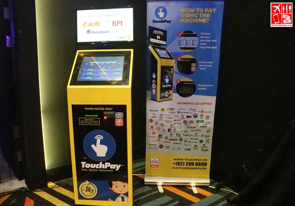 A TouchPay APM at the launch