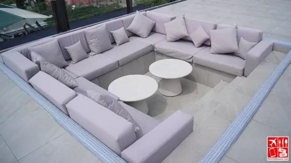 Ibiza Pool - Sunken Sofa