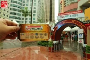 Robinsons Supermarket Give Wellness event entrance
