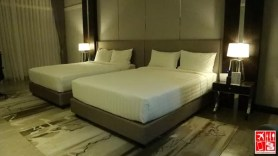 The Le Charme Suites Deluxe Room assigned to me