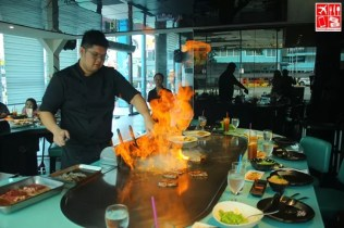 short entertainment at Teppan 101