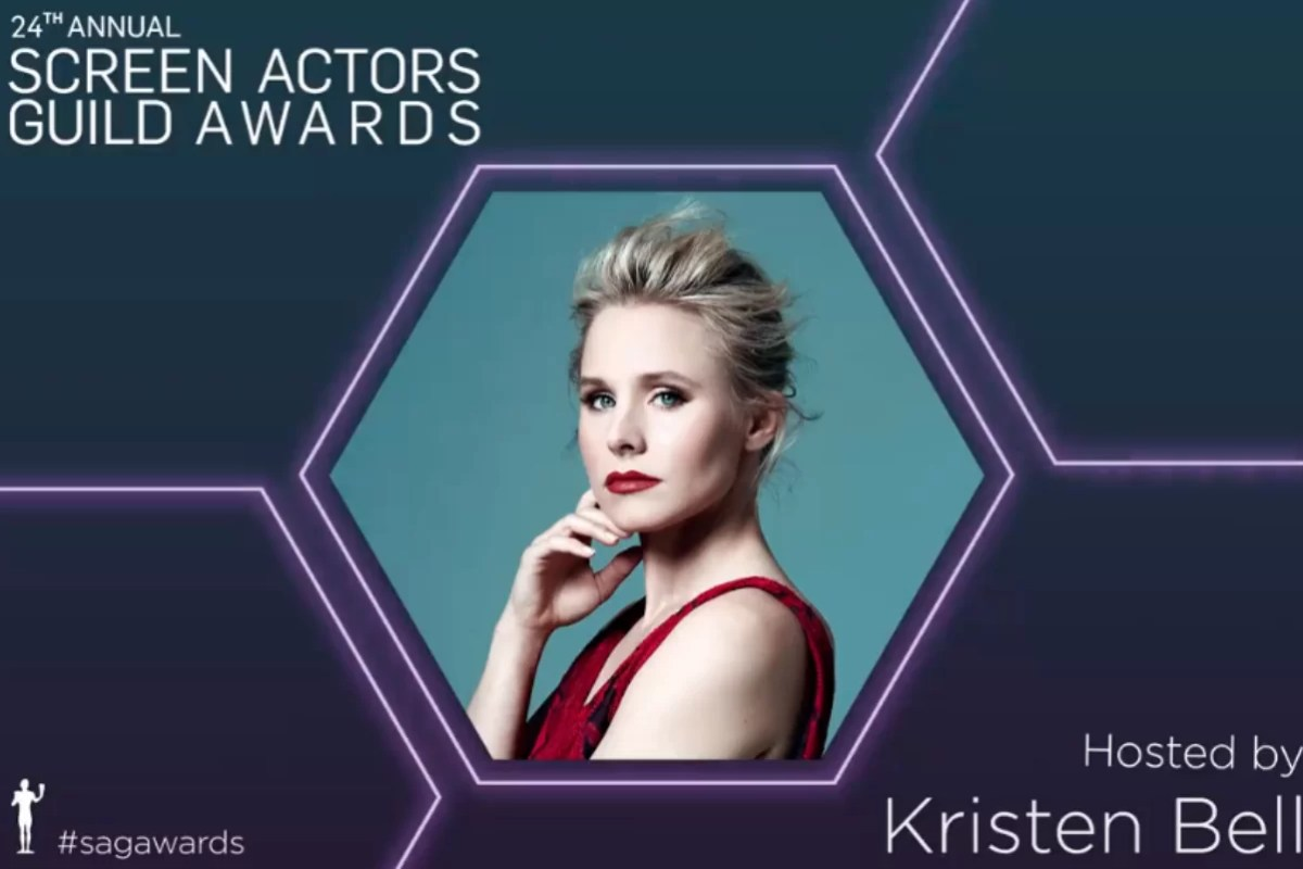 24th Screen Actors Guild Awards with Kristen Bell