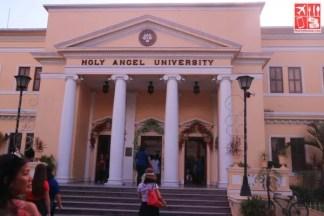 Center for Kapampangan Studies is inside the Holy Angel University