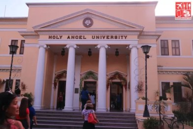 Center for Kapampangan Studies is inside the Holy Angel University