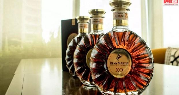 Bottles of Remy Martin XO