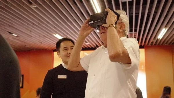 The ARK by UnionBank uses VR technology to serve client