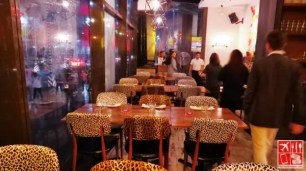Main dining area of Oye Tapas & Grill