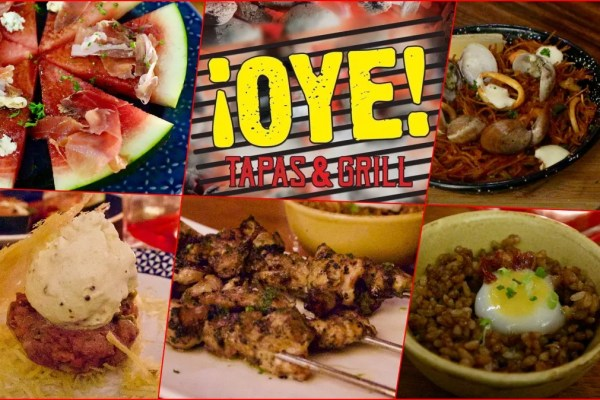 My favorite dishes at Oye Tapas & Grill